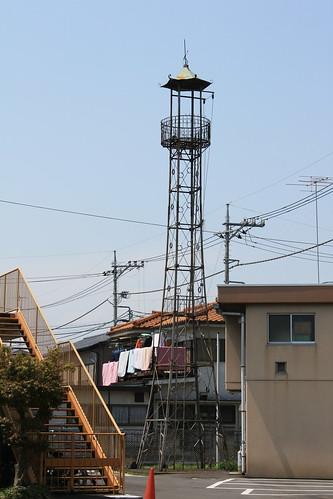 大楽寺の火の見櫓(八王子市)