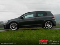 VMR Wheels - V718 Hyper Silver - Volkswagen Golf VI GTI (VMR Wheels Switzerland) Tags: black silver golf volkswagen