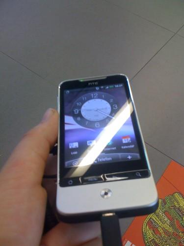 HTC Legend i love it i want it :-)