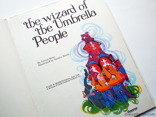 wizard of the umbrella people: title page