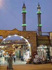 (celmaat) Tags: evening gate dusk minaret egypt bazaar aswan
