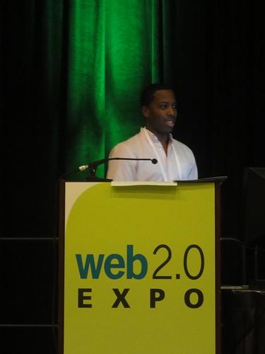 Tristan Walker rocking Web 2.0 Expo