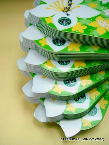Starbucks台灣統一星巴克 油桐花造型隨行卡 (2010 May) 005