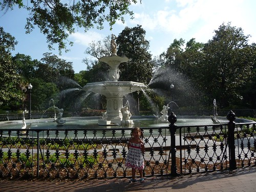 forsyth park fountain.