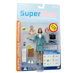 SuperMom, in all her packaged glory