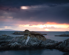 """Sunset from Arisaig • <a style=""""font-size:0.8em;"""" href=""""http://www.flickr.com/photos/26440756@N06/4587805850/"""" target=""""_blank"""">View on Flickr</a>"""