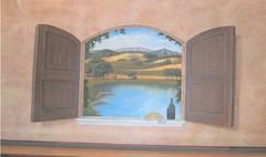 Trompe Lóeil Mural, Open WIndow