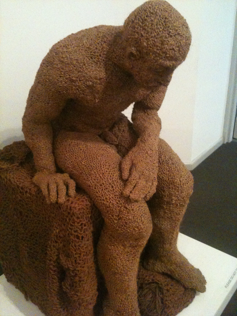 Knitted man (twas freaky)