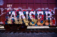 ANSER (Rail Junk) Tags: ex answer chronic ihp bhg ansr