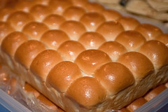 Pan (Dinner Rolls) on the Fiesta Table