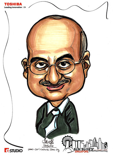 Caricature of Pradeep
