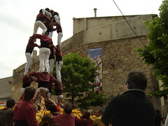 """Castellers d'Esparreguera May 2010 """"5de6"""""""