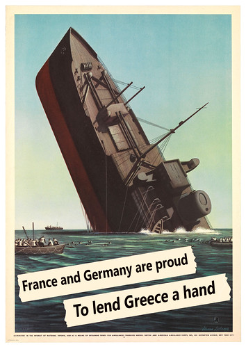 Whilst Greece sinks German subs and French frigates come to the rescue