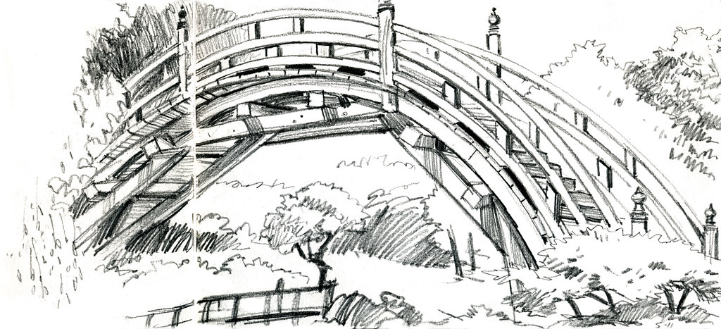 Japanese Garden Urban Sketchers