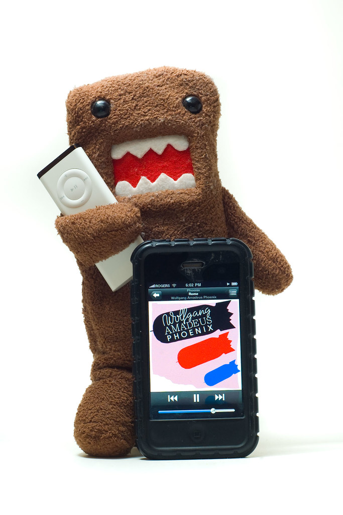 I Don't get to choose the tunes. My Domo does it for me