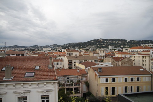 A rooftop view of Cannes