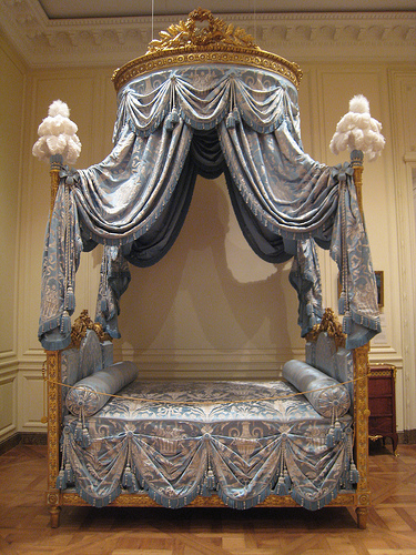 Late 18th-century French bed
