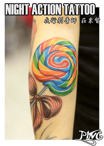 color tattoo lollipop a photo on Flickriver