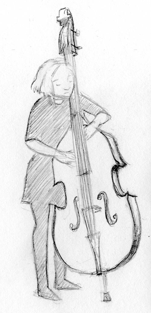 wolf & crow bassist sketch
