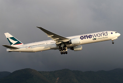 Boeing | 777-367/ER | Cathay Pacific Airways | oneworld Scheme | B-KPL | Hong Kong | HKG | VHHH