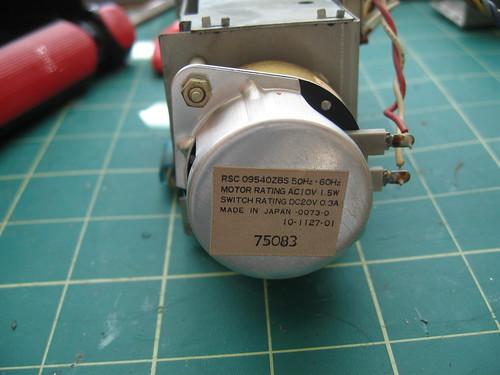 "Panasonic ""Digital"" Clock - 60Hz motor"