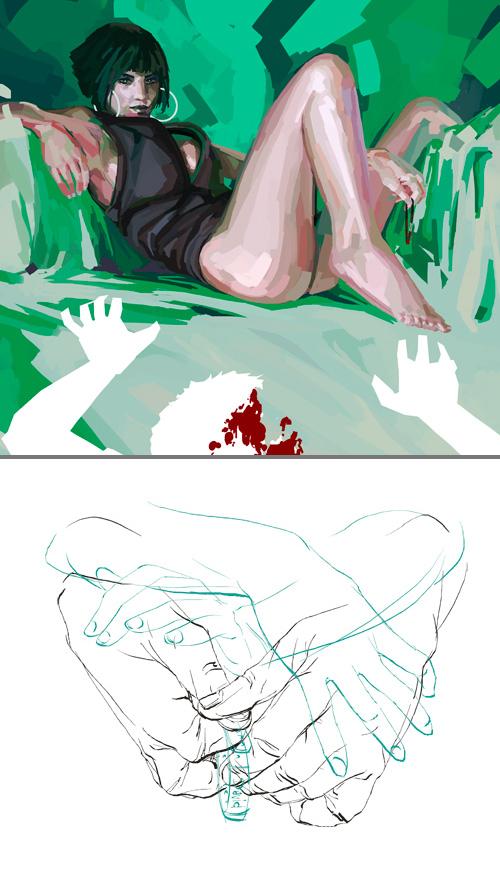 blog - Steven Bagatzky /><br /> <strong>#01</strong> <em>Steven Bagatzky – Hamburg</em><br /> großartige zeichnungen mit einer faszinierenden art zu colorieren.<br /> ich steh auf seinen stil!<br /> <a href=