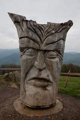 Wooden Face (mattrkeyworth) Tags: wood face germany deutschland gesicht sony skulptur holz schwarzwald blackforest schauinsland badenwrttemberg a900 sculptuure sonyalpha sonyalphaa900 sonya900 sonydslra900 mattrkeyworth