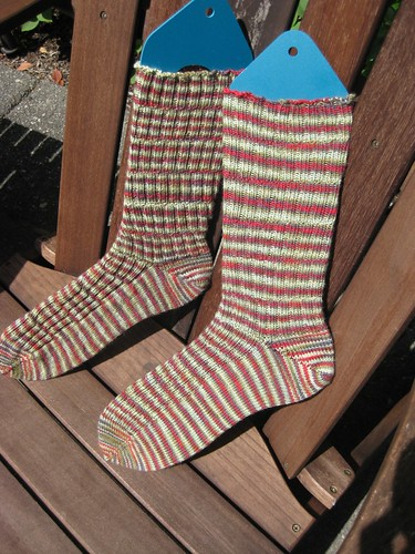 Bamboo Socks Outside