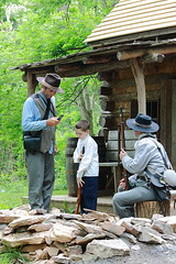 Incongruous Scene (GoshenLisa) Tags: history army war kentucky battle historic confederate civilwar soldiers battlefield reenactment reenactors confederates battlefields civilwarbattlefields blueandgray civilwarsites civilwarreenactment warbetweenthestates confederatesoldiers civilwarbattlefield civilwarsite confederatearmy fortduffield civilwarsoldiers civilwarbattlereenactment cwpt10p
