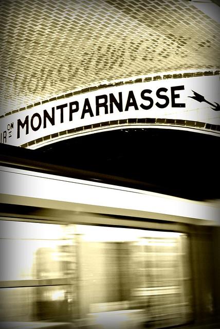 Montparnasse train