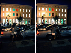 m-streetchillin' (FisheyeTy;) Tags: night dc streetlights taxi mstreet beneton