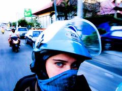 Balade en moto