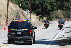CALIFORNIA HIGHWAY PATROL (CHP) - FORD EXPEDITION (Navymailman) Tags: california bicycle race highway tour stage 8 hills chp law enforcement oaks patrol thousand toc amgen agoura californiahighwaypatrol