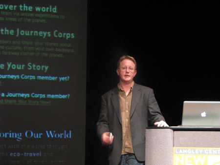 Russell Sparkman, Langley Center for New Media