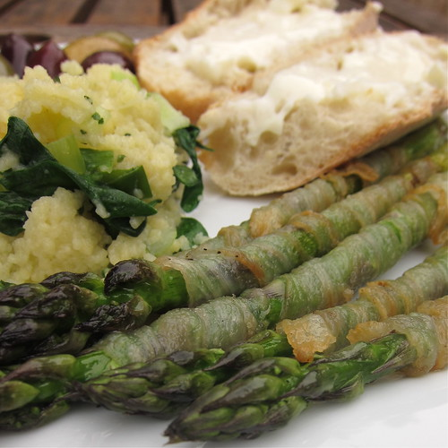 #148 - Grilled Asparagus Wrapped in Guanciale