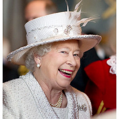 The Queen laughs (royalist_today) Tags: elizabeth unitedkingdom royal queen monarch regina reine royalty elizabethii 2010 queenelizabeth sovereign knigin koningin drottning australianqueen queenofaustralia queenofcanada