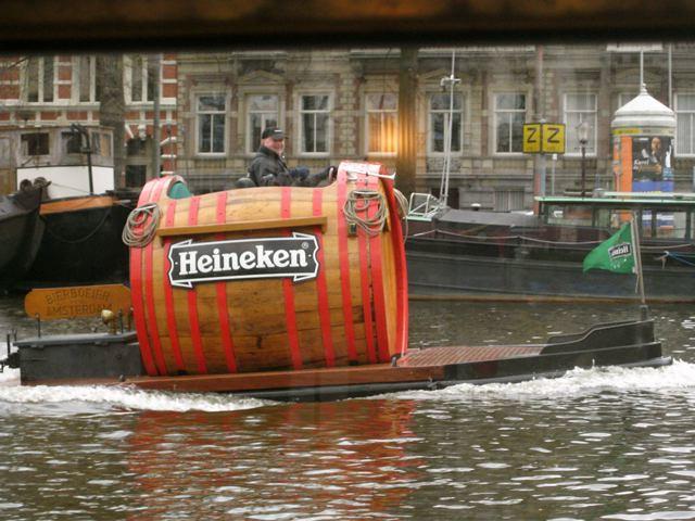 Heineken Boat Amsterdam