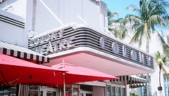 Colony Theater South Beach (Phillip Pessar) Tags: sobe southbeach miamibeach kodak film aps advantix400 advantix theater c41 roadside architecture theatre building