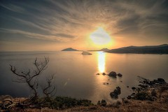 (konstantinos **) Tags: sunset bw long exposure filter sounio nd110