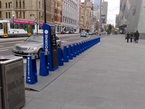 Melbourne Bike Share station, Fed Square