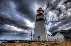 Alnes lighthouse (Maron) Tags: sky lighthouse house norway landscape hdr fyr sunnmre alnes supermarion marionnesje