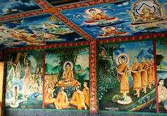 Beautiful Buddha Mural (Khmanglo) Tags: art beauty asian temple countryside mural asia cambodge cambodia kambodscha southeastasia cambodian khmer buddha buddhist vivid monk buddhism wat buddism buddist buddhisttemple mekong apsara picnik kompong religiousart ramayana standingbuddha cambo kampuchea bodhitree cambodiancountryside theravada kampongcham khmerart kompongcham kambuja makingmerit celestialdancer cambodianbuddhism cambodianart beautifulmural offthetouristtrail offthetouristtrailcambodia cambodianbuddism
