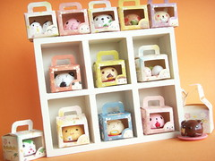 Kawaii Cute Japanese Sweets Tiny Mascot in Box Collection Toy (Kawaii Japan) Tags: pink food baby white cute rabbit bunny smile smiling animal cake japan asian toys japanese miniature brinquedo panda small bonito adorable mini mascot collection lindo tiny kawaii bonita sweets decor deco rare spielzeug jouet collectibles juguete manju bandai  niedlich japanesetoy gentil japanesesweets atraente carino giocattolo grazioso facefood japanesestore japaneseshop foodwithfaces outofproduction