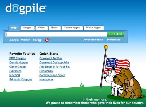 DogPile Memorial Day Logo
