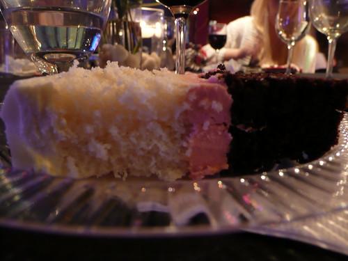 the best wedding cake i've ever eaten!