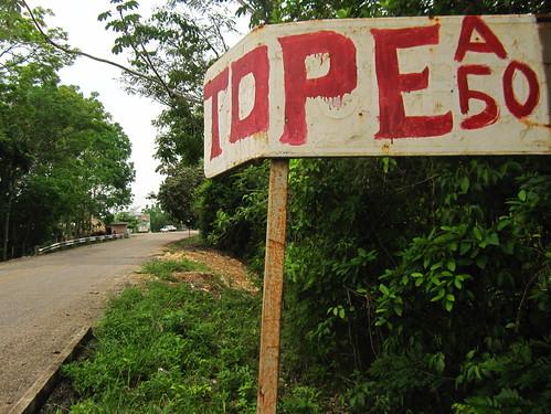 Frontera Corozal 07 - Topes everywhere