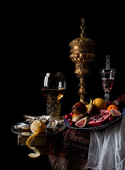 Still Life - after Willem Kalf (kevsyd) Tags: stilllife pineapplecup willemkalf kevinbest dutchstilllife nurembergcup pronkstilleven
