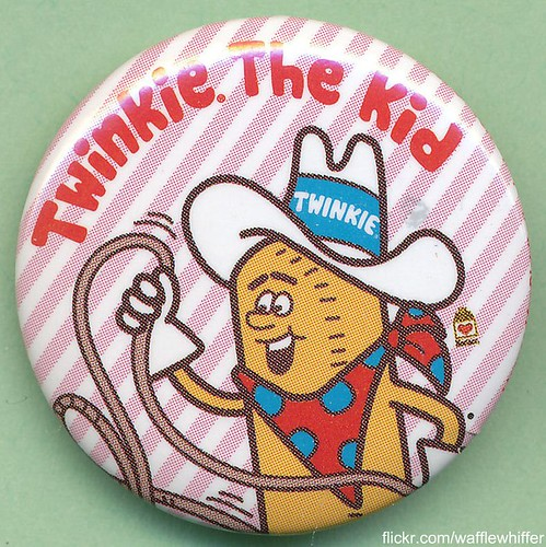Twinkie The Kid Button