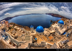 177/365 - Oia.Santorini.@.1150x750 (Pawel Tomaszewicz) Tags: camera new blue light shadow sky holiday fish streets eye colors architecture clouds photoshop canon buildings lens island greek photography eos islands photo high foto view quality creative kreta hobby fisheye santorini greece crete ia hq fotografia greekislands santorin hdr oia cyclades fable thira fira aparat wakacje  kriti architektura chmury niebo 3xp grecja photomatix oja budynki odpoczynek kyklades wyspa  wyspy eos400d 1200x800 fotografowie polscy allxpressus cyklady flickrhivemind bkitne saariysqualitypictures santoryn paweltomaszewicz flickrhivemindgroup