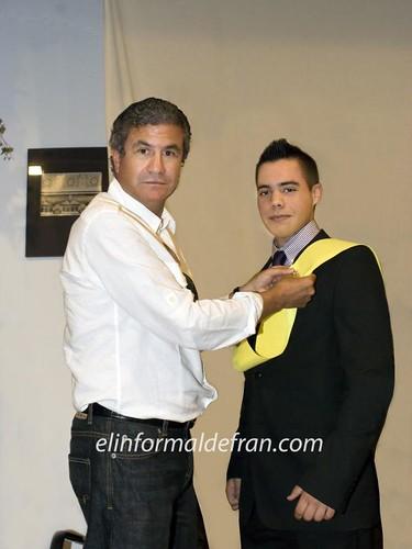 Puesta de Insignia del 2º curso del Grado Superior